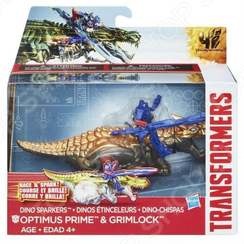 Transformers «DINO SPARKLERS» Optimus Prime and Grimlock A6494