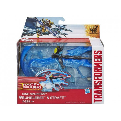 Transformers «DINO SPARKLERS» Bumblebee and Strafe A6495