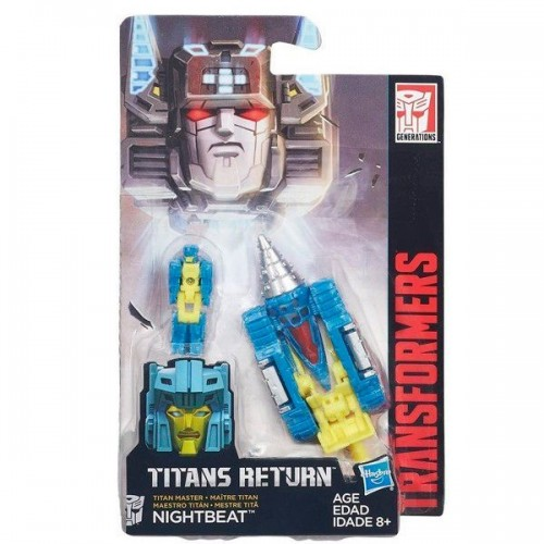 Transformers Дженерейшнс Войны Титанов: Мастера Титанов «Nightbeat» B4698